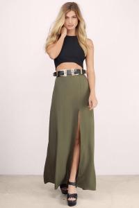 Hanalei Slit Maxi Skirt