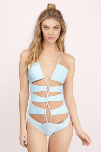 Unforgettable Lace Up Monokini